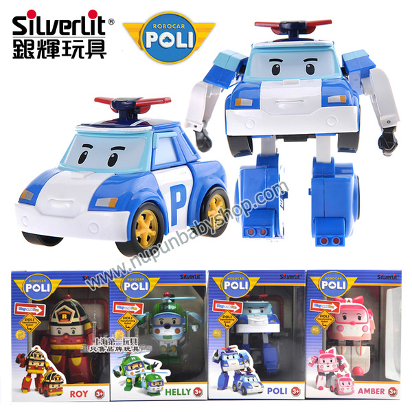 TY-0021 Robocar Poli Transforming / หน่วยกู้ภัยผู้พิทักษ์