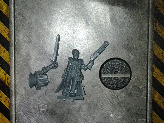 Chaos Cultists Champion with Shotgun DV single