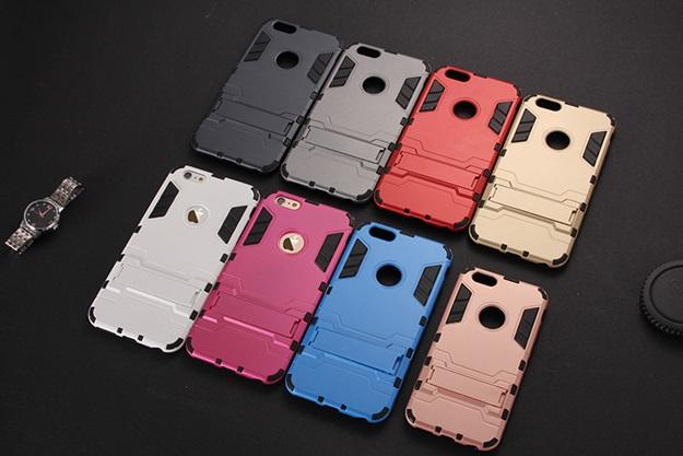 (394-017)เคสมือถือไอโฟน case iphone 6/6S เคสกันกระแทกขอบนิ่ม Drop Ultimate มีขาตั้งในตัว