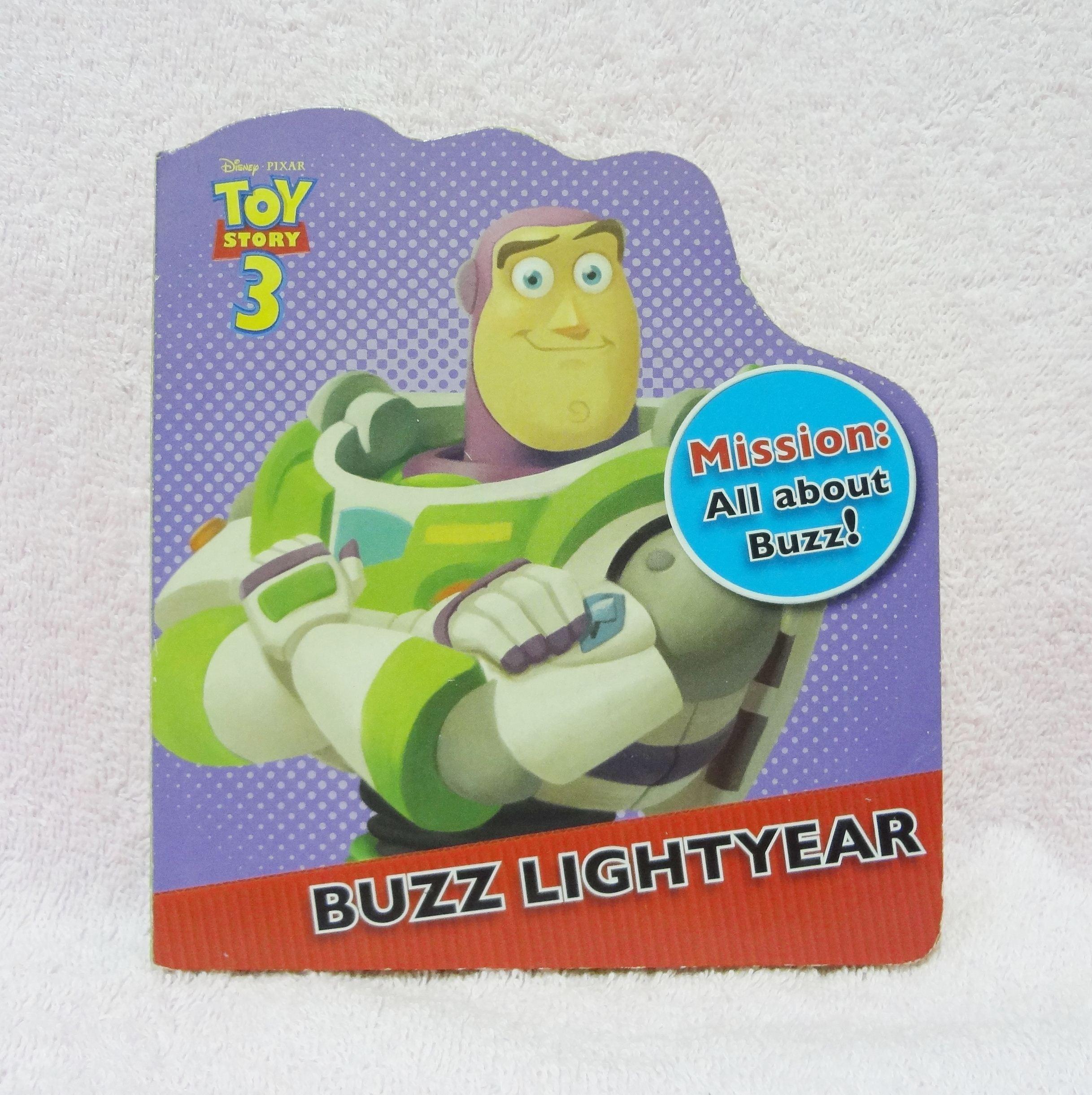 หนังสือนิทาน Toy Story 3 - Buzz Lightyear
