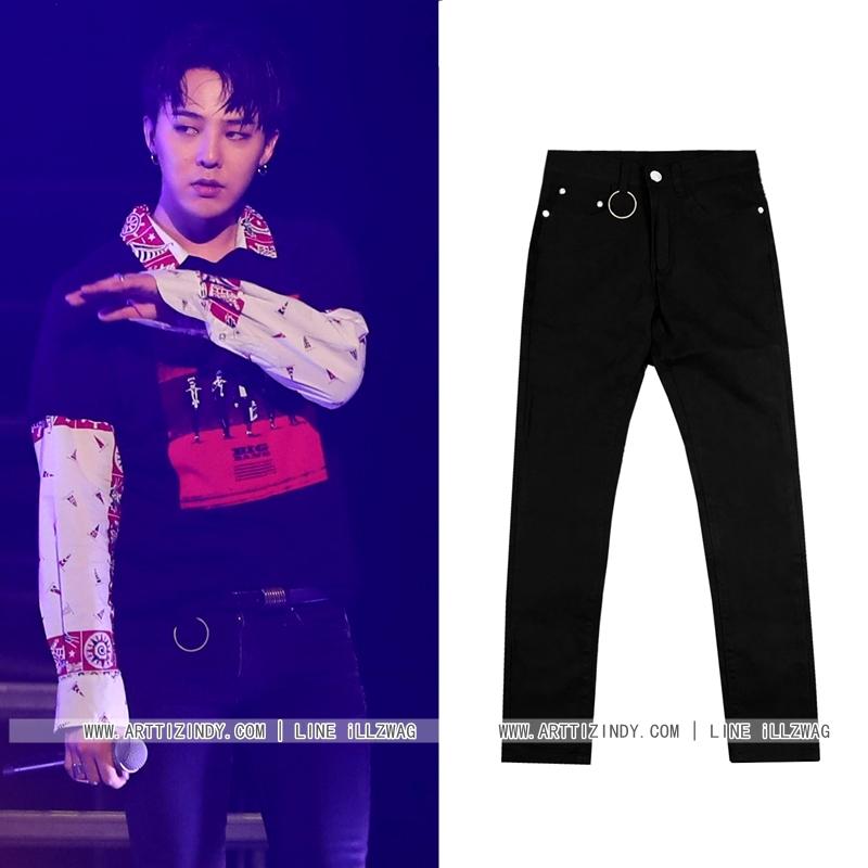 กางเกงยีนส์ BLACK Sty.G-Dragon [DENIM-03] -ระบุไซต์-
