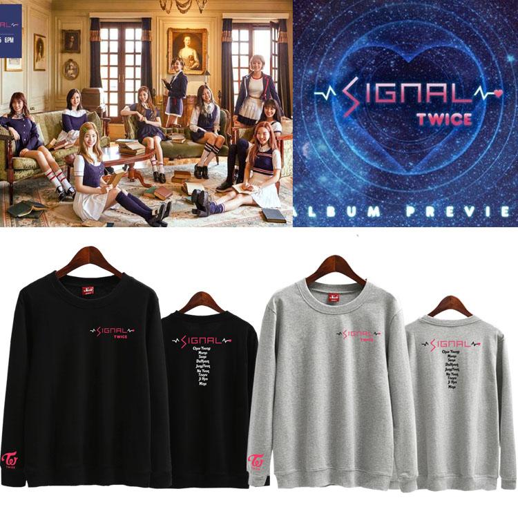เสื้อแขนยาว Twice SIGNAL All member -ระบุสี/ไซต์-