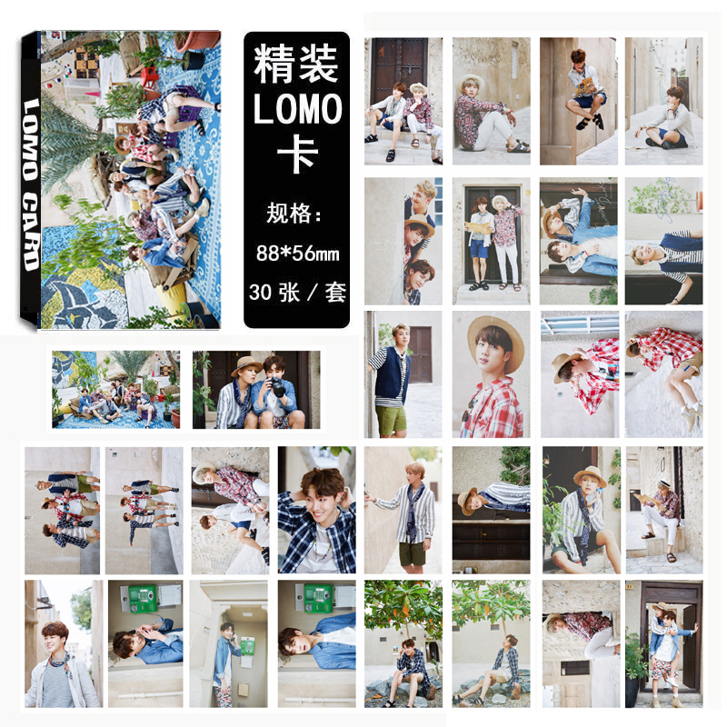Lomo card set BTS summer package (30pc)