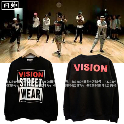 เสื้อแขนยาว VISION STREET WEAR Sty.G-Dragon -ระบุสี/ไซต์-