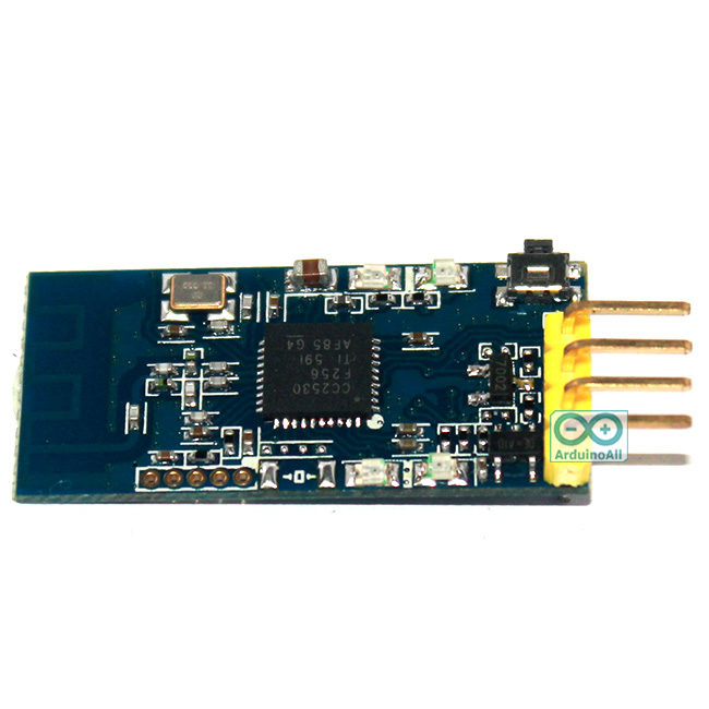 Zigbee wireless 2.4G serial data transceiver module CC2530