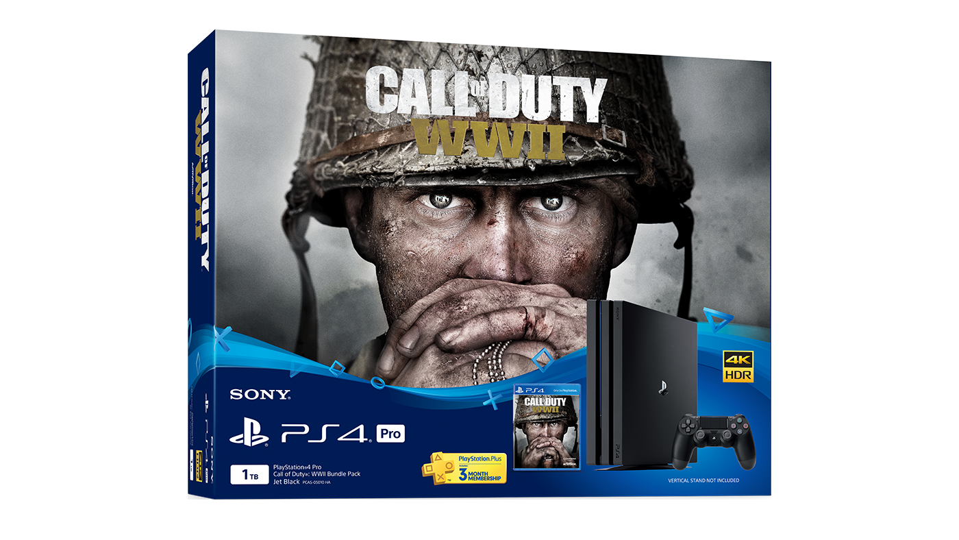 PlayStation 4 Pro Call of Duty WWII Bundle (Asia)