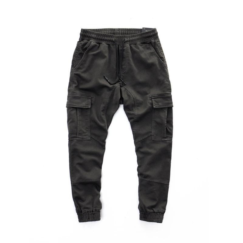 *Pre Order*กางเกงลำลองขาจั๊ม OldSaints American leisure size S,M,L,XL