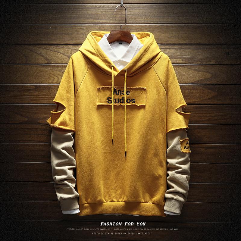 *Pre Order*sweater men plus fat large hood hooded แฟชั่นญี่ปุ่น size M-5XL