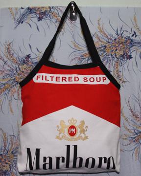กระเป๋าผ้าcanvas สกรีนลาย marlboro