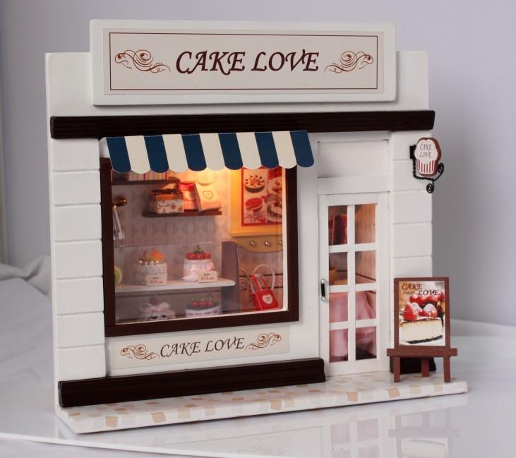 ฉาก DIY Cake Love.