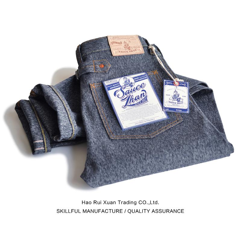*Pre Order*กางเกงยีนส์ VINTAGE ผู้ชายญี่ปุ่น SauceZhan Japanese fashion 15.5 oz. size W28-38