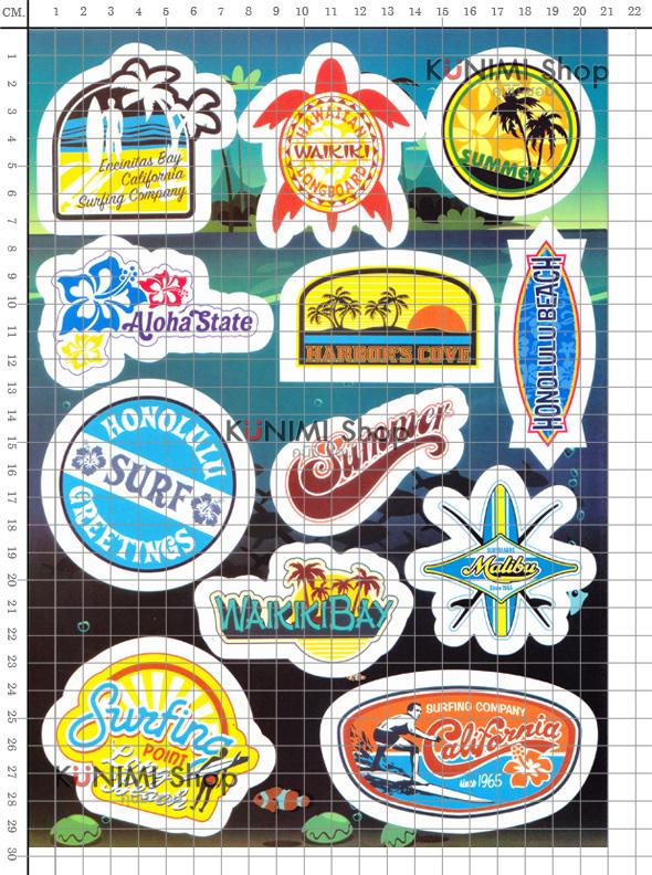 สติกเกอร์ Sticker กระดาษเคลือบกันน้ำ ลายการ์ตูน กราฟฟิก วินเทจ สวย เท่ห์ ติดกระเป๋า ของใช้ ตู้ ผนัง ตกแต่งสิ่งของ