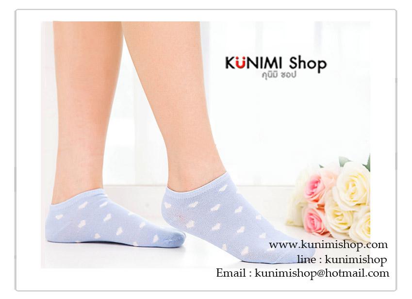 ถุงเท้าแฟชั่น ถุงเท้าสั้น ลายน่ารัก มีให้เลือกลายสีคะ ขนาด Free Size ( ความยาวก่อนใส่ 18 cm.)