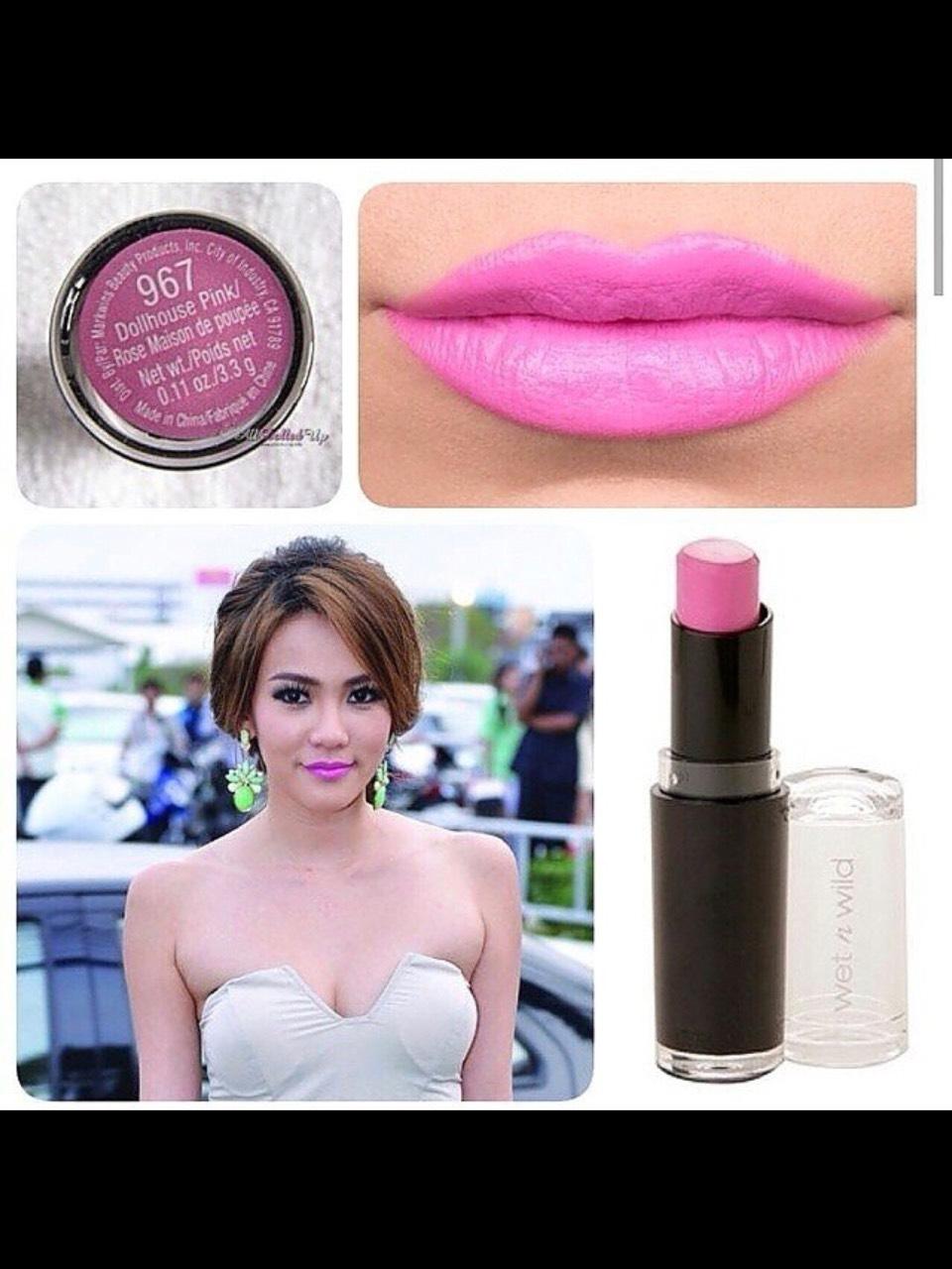 **พร้อมส่งค่ะ+ลด 50%**wet n wild lipstick Dollhouse Pink 967