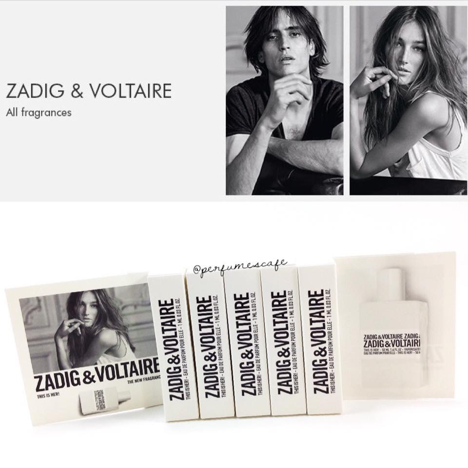 Zadig & Voltaire This is Her ขนาดทดลอง 2 ml.