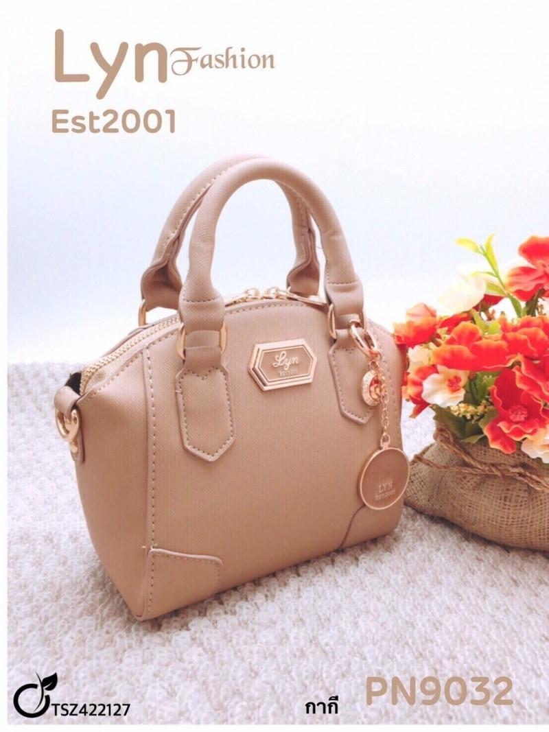กระเป๋าแฟชั่น วัสดุ PU หนา ทรงสวย เป็นกระเป๋าสะพายข้างถอดสายได้