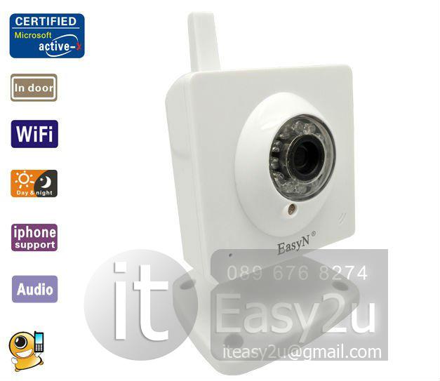 กล้องวงจรปิดไร้สาย EasyN F-M161 - Wireless IP Camera (Indoor)