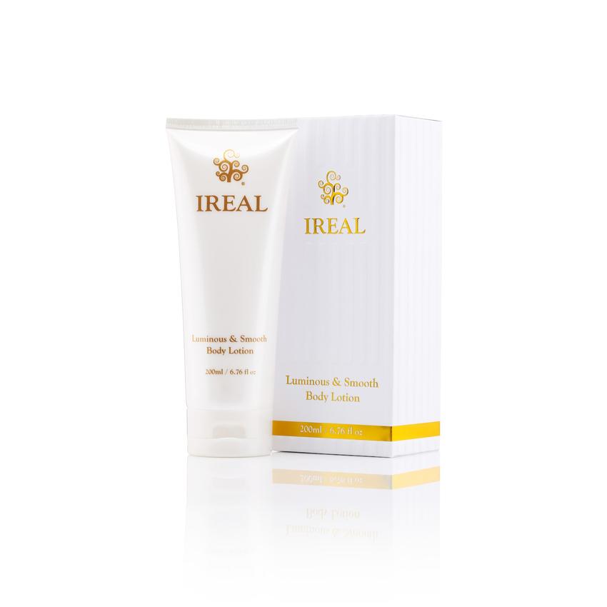 Ireal Plus Luminous&Smooth Body Lotion 200ml.