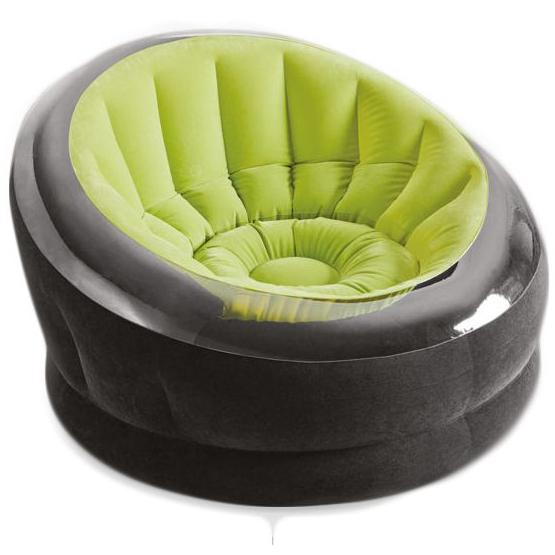 ฮ มีของพร้อมส่งนะคะ Empire Chair Intex เก้าอี้เป่าลมเอ็มไพร์ รุ่น68582 (สีเขียว)