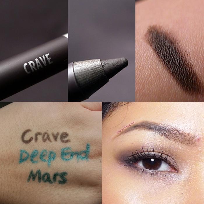 **พร้อมส่งค่ะ+ลด70%**Urban Decay eyeliner Pencil Crave 1.2g.