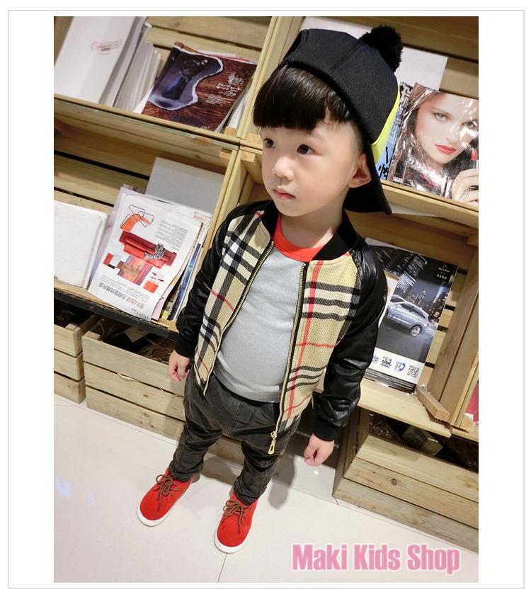 เสื้อแจ็คเก็ตเด็กชาย แฟชั่นเสื้อผ้าเด็ก ไซส์ 13