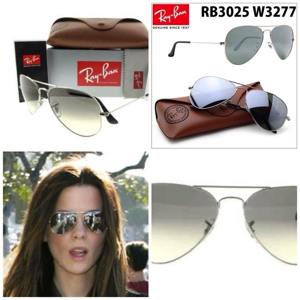 ray-ban rb3025 aviator mirror (silver metal frame)
