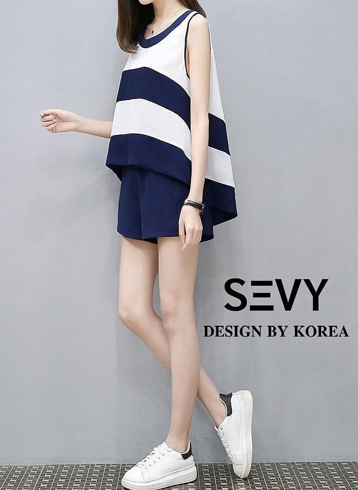 ชุดเซทแฟชั่น Set เสื้อ + กางเกง งานแบรนด์เกาหลี งานดี งานสวย