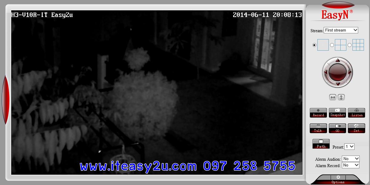 IP Camera H3-V10E Night Views