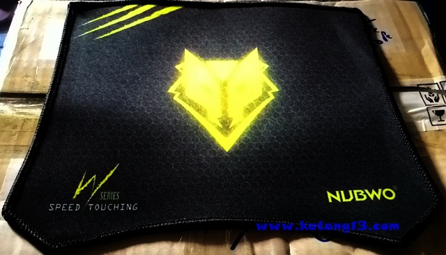"Mouse PAD NUBWO ""NPW02"" Black"