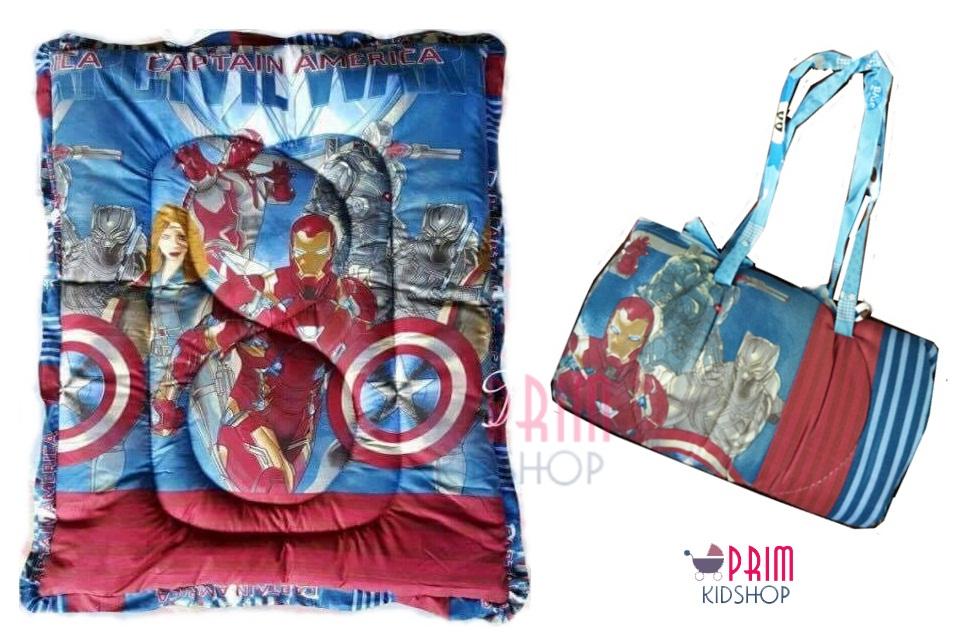 ที่นอนเด็กอนุบาลลาย Iron man 2
