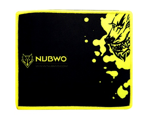 """Mouse PAD (แบบผ้า) NUBWO """"NP-011"""" Y"""