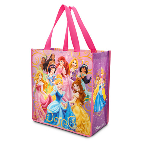 z Disney Princess reusable tote(พร้อมส่ง)