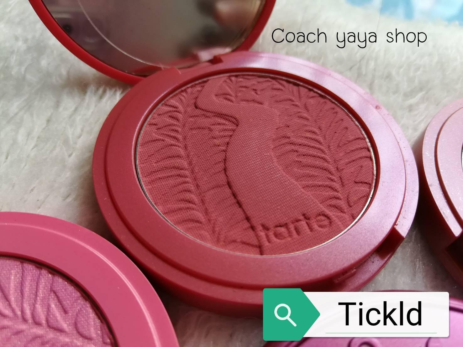 **พร้อมส่งค่ะ +ลด 50%** Tarte Amazonian Clay 12-hour blush Tickled ( สี Tickled )