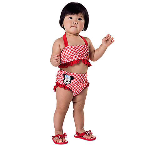 * Minnie Mouse Swimsuit for Baby - 2-Piece from Disney USA ของแท้100% นำเข้า จากอเมริกา