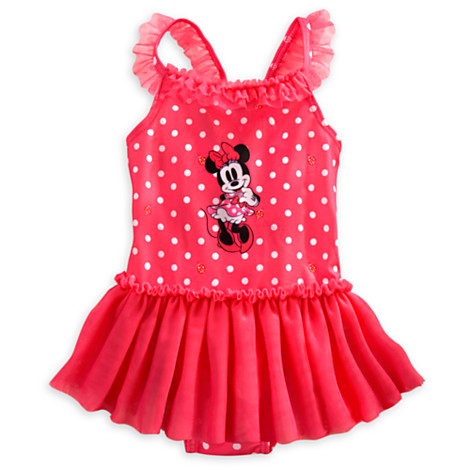 z Minnie Mouse Tutu Swimsuit for Baby 003 (Size 18-24 month)
