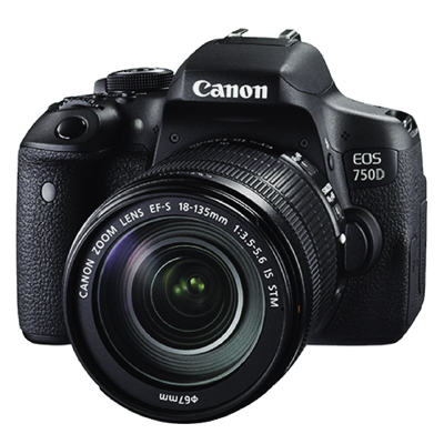 Canon EOS 750D Kit (EF-S18-55mm IS STM) ประกันศูนย์