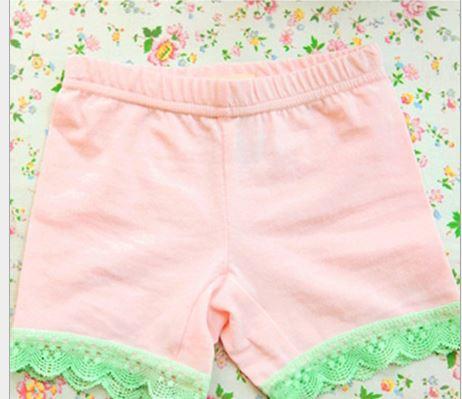 กางเกงขาสั้นซับใน สีชมพู PinkIdeal