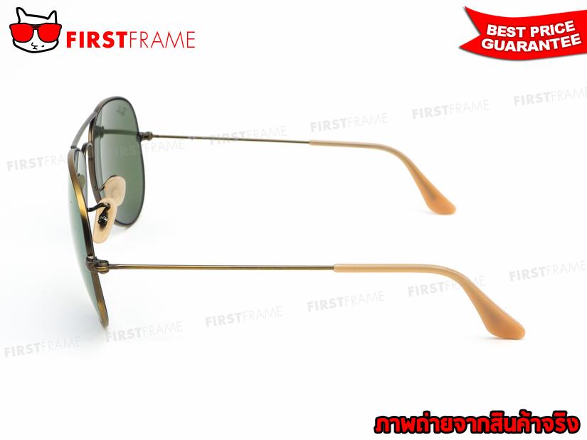 แว่นกันแดด RayBan RB3025 167/1M | AVIATOR LARGE METAL NEW COLOR3