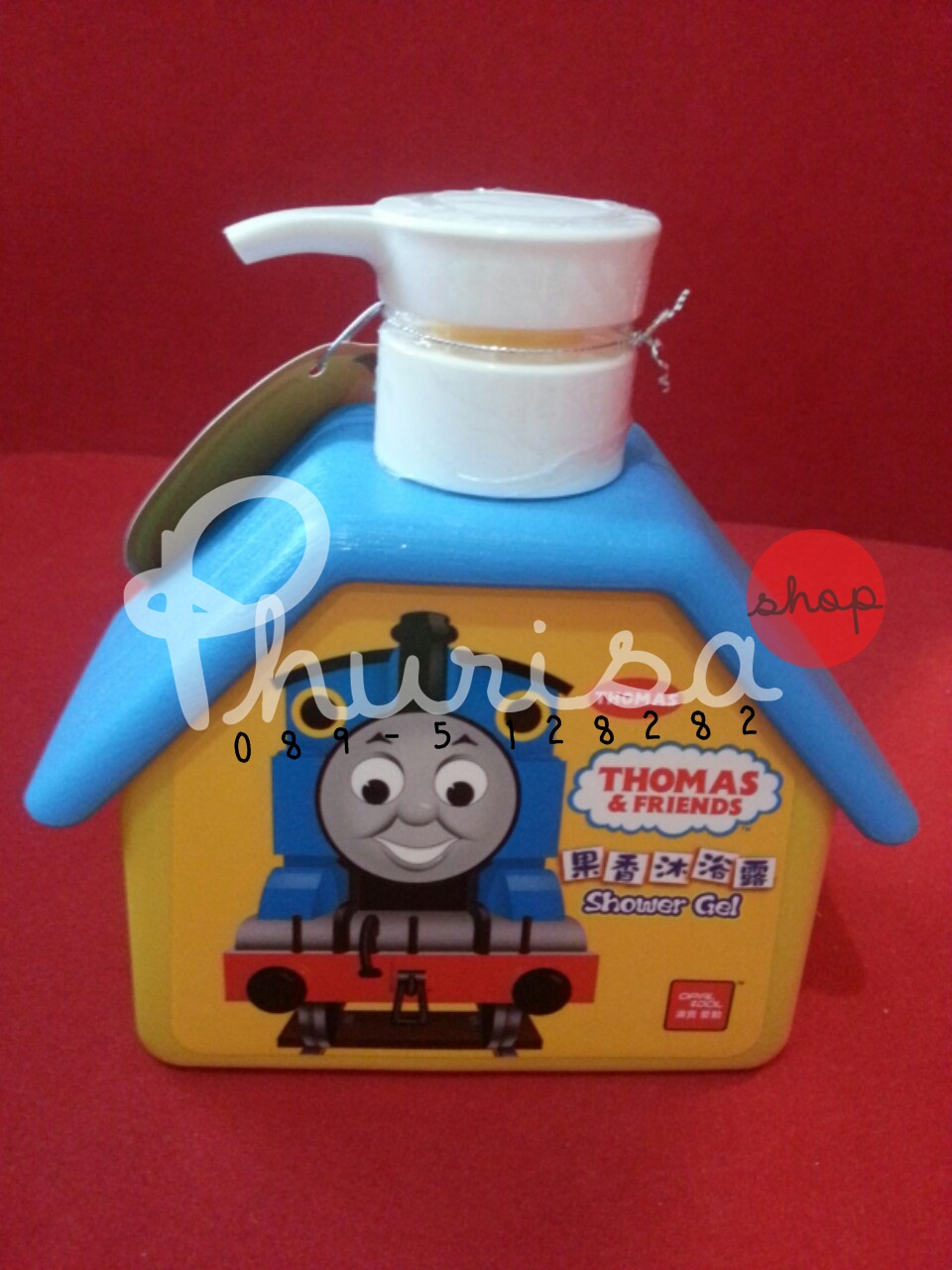 """ยอดนิยม! ครีมอาบนําเด็ก ลาย """"Thomas&friends"""""""