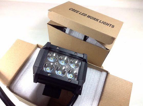 ไฟสปอร์ตไลท์ LED 6 ดวง