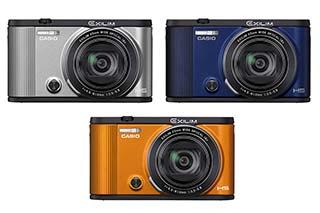 ใหม่ล่าสุด casio exilim ex-zr2000 กล้องฟรุ้งฟริ้ง zr2000 จากคาสิโอ สีน้ำเงิน เทา