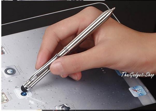 ปากกา Stylus Pen แบบเขียนได้ Stylus Pen High Ballpoint Writing Stylus Pen High Sensitive Touch Pen Capacity Screen