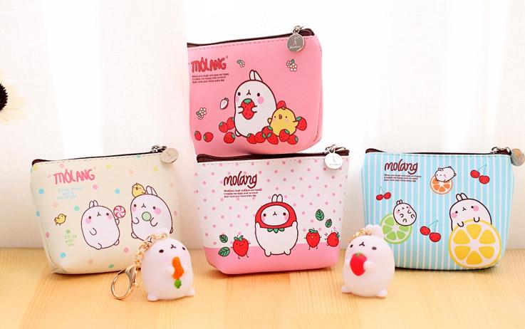 กระเป๋าใส่เหรียญ Molang