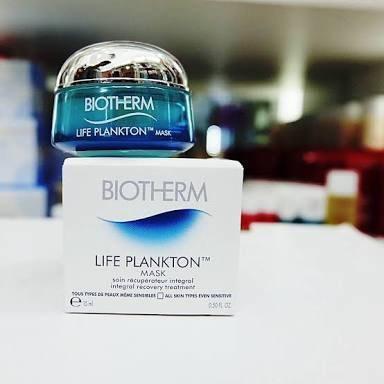 Biotherm Life Plankton Mask ขนาด5ml มาส์กสำหรับกลางคืน สั่งซื้อ LINE : @narisze