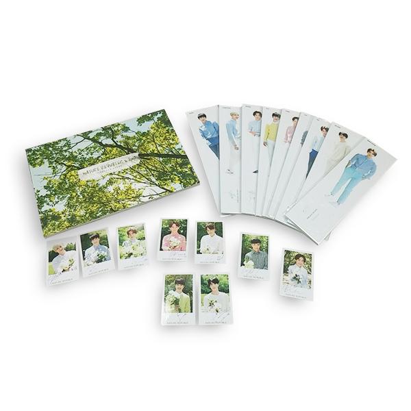 EXO - Catalogue + Standing Dolls Set + Photocard Set