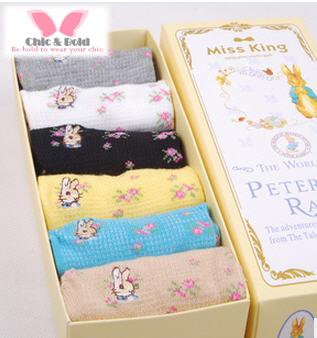 เซตของขวัญ ถุงเท้ากระต่ายน้อย Preter Rabbit
