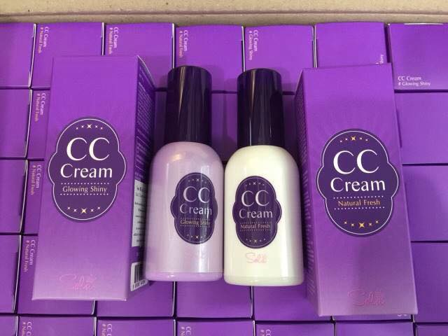 Sola CC Cream 30 g สี Natural Fresh สำหรับผิวขาว