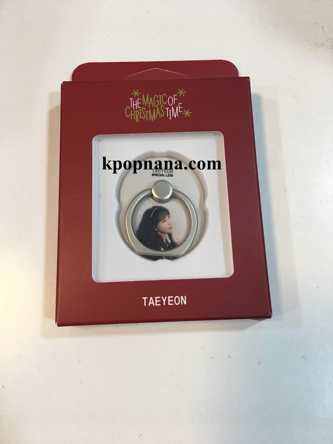 """ของหน้าคอน แทยอน TAEYEON SPECIAL LIVE """"The Magic of Christmas Time"""" -Style Ring แบบสีขาว พร้อมส่ง"""