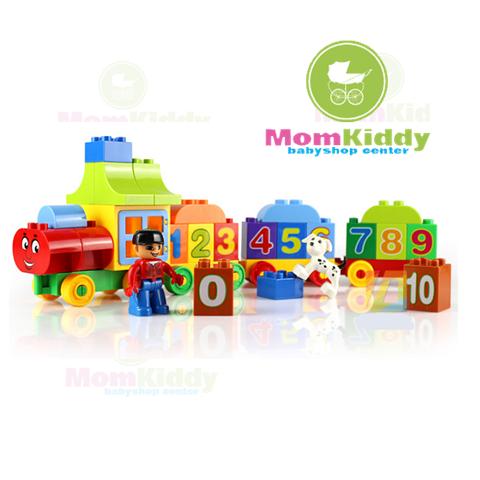 ตัวต่อเลโก้ขบวนรถไฟตัวเลข Number Train จำนวน 50 ชิ้น