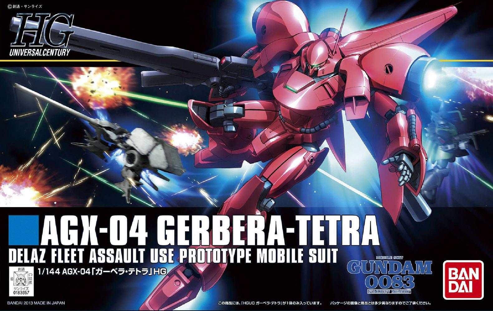 HGUC 1/144 AGX-04 Gerbera-Tetra